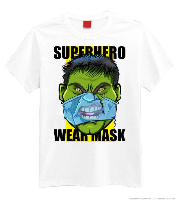 hulk mask white
