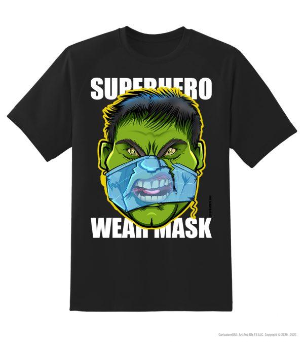 hulk mask black