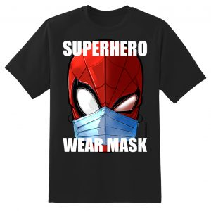 spidey mask_black