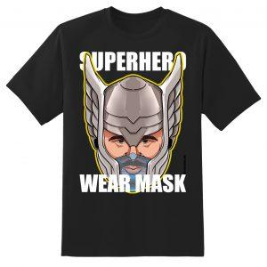 thor mask black