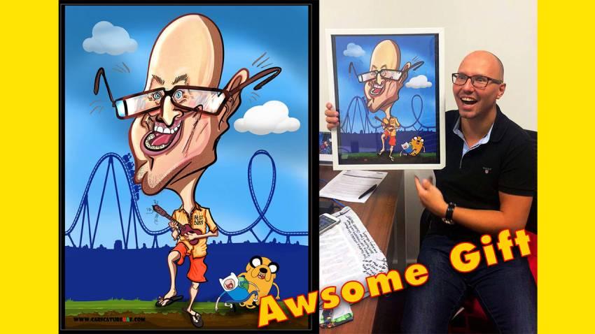 cartoonist UAE