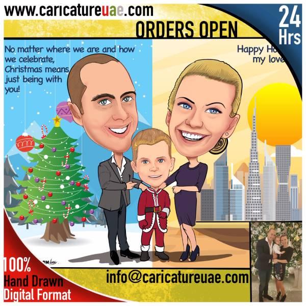 caricature online Dubai