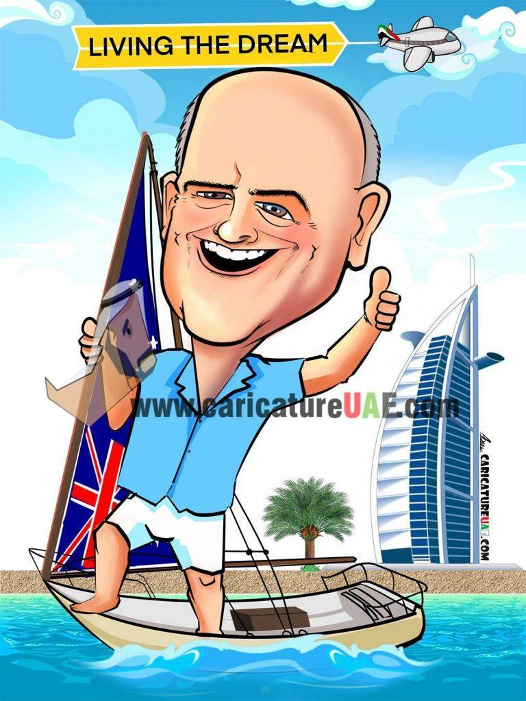 customised caricature gifts
